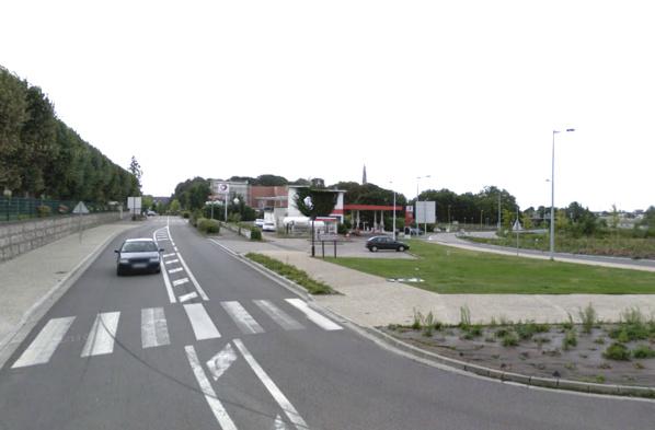 L'accident s'est produit rue Frédéric Chopin, au niveau du rond-point, sur ce passage réservé aux piétons (@Google Maps)