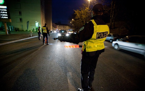 Chaque nuit ou presque, les policiers sont confrontés à des refus d'obtempérer dans l'agglomération de Rouen (Photo DGPN)