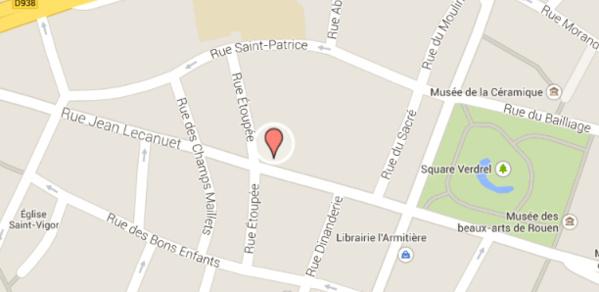 Fuite de gaz accidentelle à Rouen : onze personnes évacuées ce matin rue Jean Lecanuet