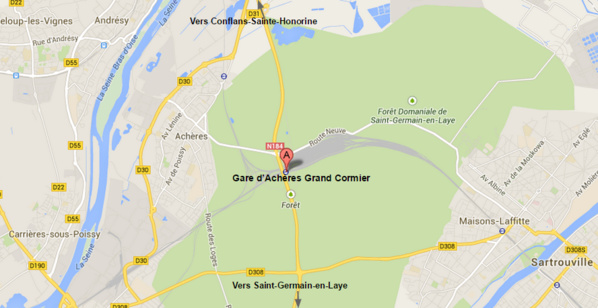 Yvelines : suicide en gare d'Achères Grand Cormier, 700 passagers évacués