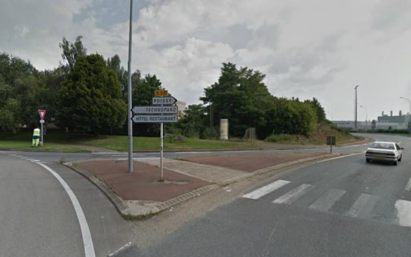 Le CD30 a été fermé à la circulation en direction d'achères (à partir du rond-point du Technoparc) Photo d'illustration