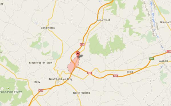 Perte de contrôle près de Neufchâtel-en-Bray : la conductrice est tuée sur le coup