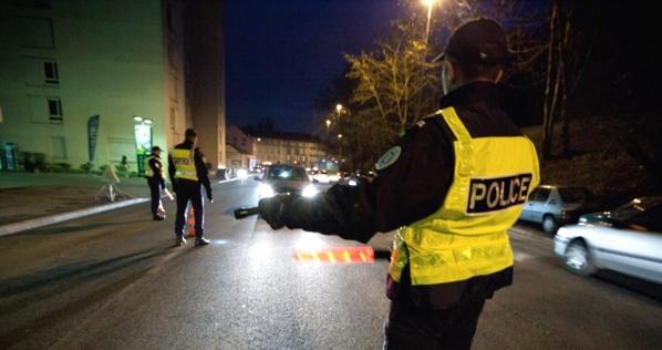 Photo d'illustration d'un contrôle de police (Document DGPN)