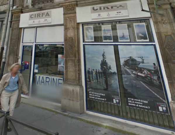 Le centre d'information et de recrutement des Forces Armées est installé au 15, rue de Crosne, à Rouen