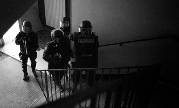 Les hommes du RAID, l'unité d'élite de la police nationale, étaient prêts à intervenir si besoin était (Photo d'illustration DGPN)