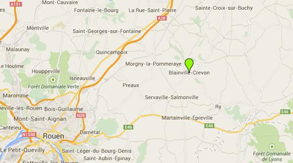 Le corps carbonisé d'une septuagénaire découvert dans les décombres de sa maison près de Rouen