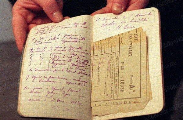 Le carnet militaire d'un poilu (Photo DR)