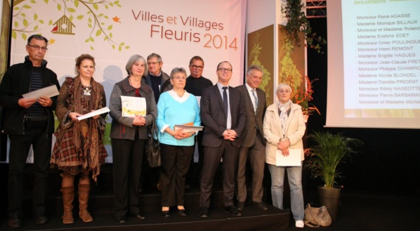 Quelques-uns des lauréats à l'honneur ce samedi matin à l'occasion de la remise des prix par Nicolas Rouly, président du Conseil général de Seine-Maritime (Cliquez sur la photo @CG76 pour l'agrandir)