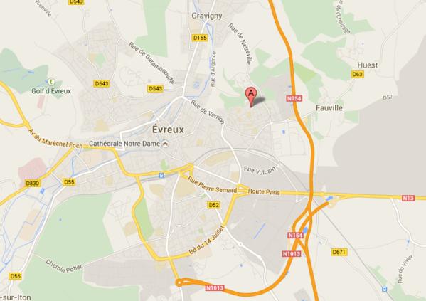 L'auteur d'un home-jacking à Evreux perd sa carte de transport chez sa victime...