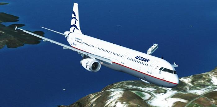 Aegean Airlines et la plus importante compagnie aérienne en Grèce