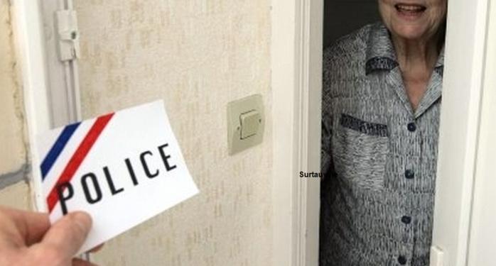 Les services de police appellent les personnes âgées à faire preuve d'une extrême vigilance envers les inconnus, y compris ceux qui se présentent en qualité de fonctionnaires de police ou d'agent des eaux. Ils ne doivent pas hésiter en aucun cas à composer le 17 (police-secours) sur leur téléphone (Photo d'illustration)