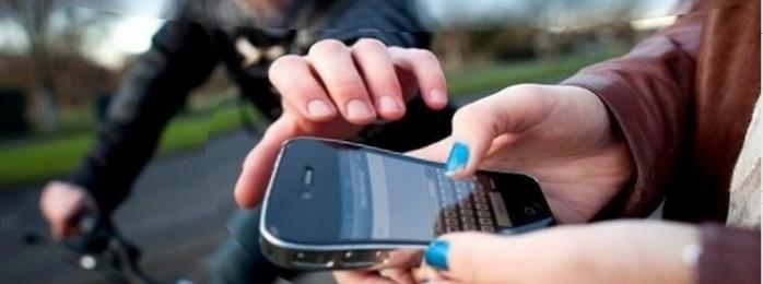 Phénomène de société, le nombre des vols et tentatives de vols de téléphone portable ne cessent d'augmenter (Photo d'illustration)