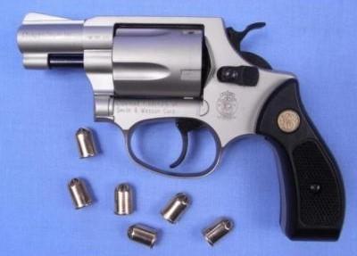 Le pistolet Smith et Wesson est une arme utilisée par les services de police, l'armée et les tireurs sportifs (Photo d'illustration)