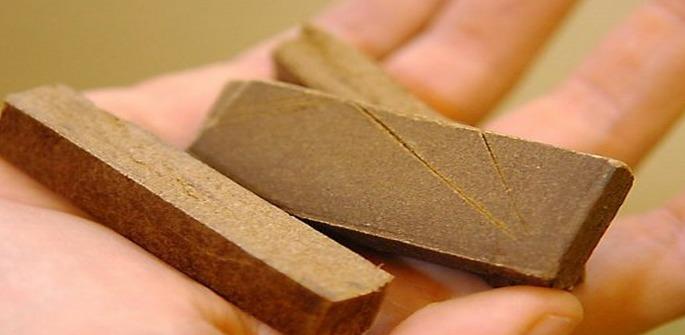 La résine de cannabis était dissimulée dans un paquet de cigarettes (Photo d'illustration)