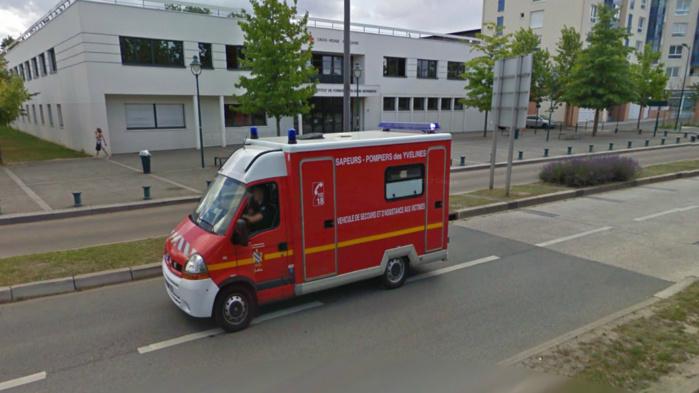 Par précaution, les deux occupants de l'appartement sinistrés ont été transportés par les sapeurs-pompiers à l'hôpital François Quesnay (Illustration)