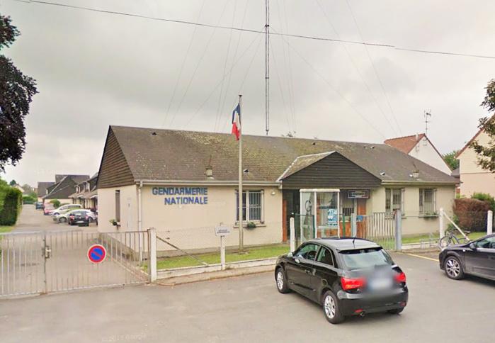 L'actuelle brigade de gendarmerie, route de Rouen, est un peu exiguë