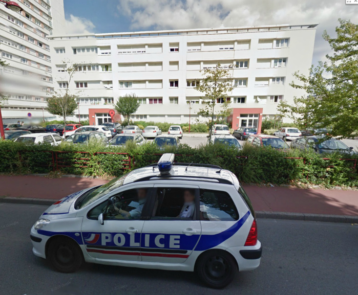 Les faits se sont déroulés dans un de ces immeubles de la rue du Puchot, à Elbeuf (Photo d'illustration)