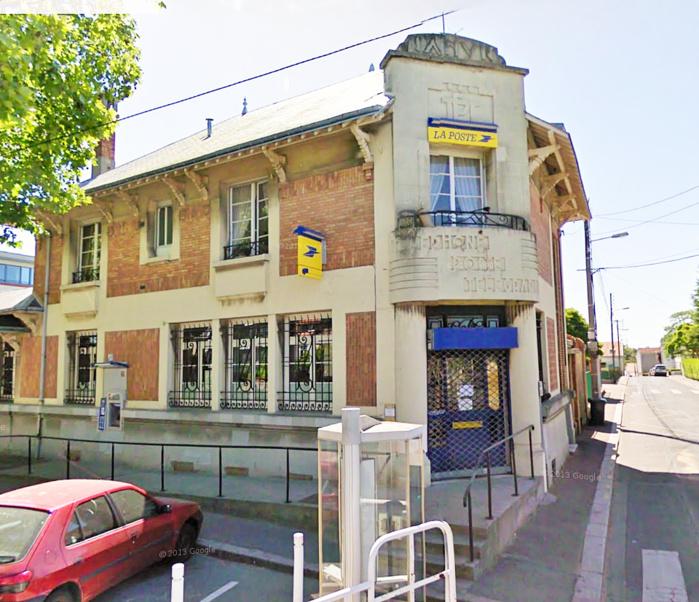 Le bureau de La Poste, rue Jean-Zay, au Havre