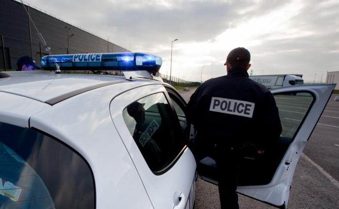 Une patrouille de police a repéré l'Audi A4 qui faisait l'objet d'une mise en surveillance après avoir été signalée sur le lieu de cambriolages (Photo d'illustration @DGPN)