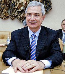 Claude Bartolone, président de l'Assemblée nationale