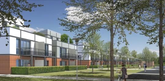 Le casernement comprend 27 logements