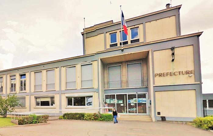 La préfecture de l'Eure, boulevard Georges Chauvin, à Evreux