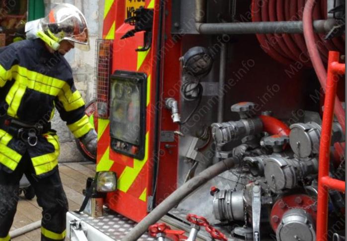 Les moyens déployés par les pompiers ont permis de limiter les dégâts (Photo d'illustration DR)