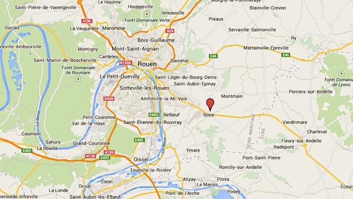 Seine-Maritime : le motard percute un terre-plein en voulant échapper à un contrôle des gendarmes