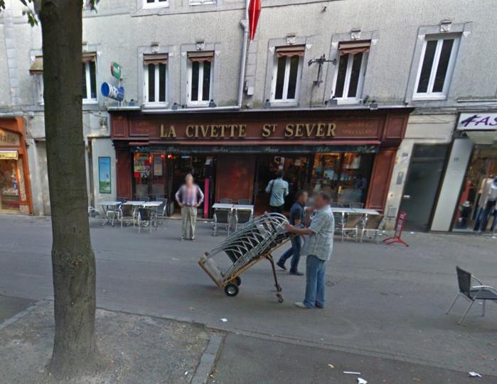 La gérante venait de quitter son établissement avec la recette qu'elle allait déposer à sa banque lorsqu'elle a été attaquée en chemin par deux individus (Photo d'illustration @Google Maps)