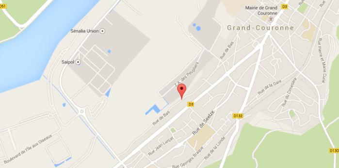Pas d'homme armé ni cagoulé à Grand-Couronne : il passait l'aspirateur !