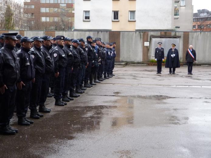 Le préfet de la Région Haute-Normandie a remercié les policiers de leur engagement pour la protection et la sécurité des citoyens (Photo DR)