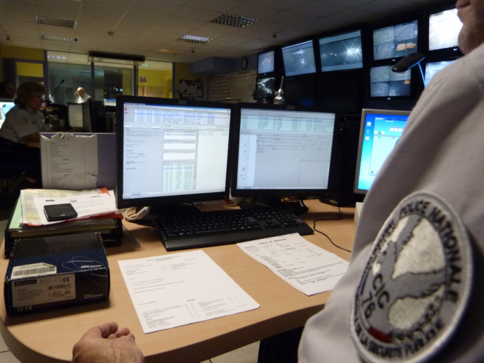 Les policiers du Centre d'information et de commandement de l'hôtel de police de Rouen ont réagi rapidement en identifiant et localisant le détenteur du numéro de téléphone (Photo DDSP)