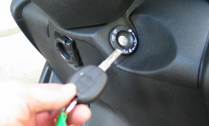 Le voleur a enfourché le scooter dont les clés étaient sur le contact (Photo d'illustration)