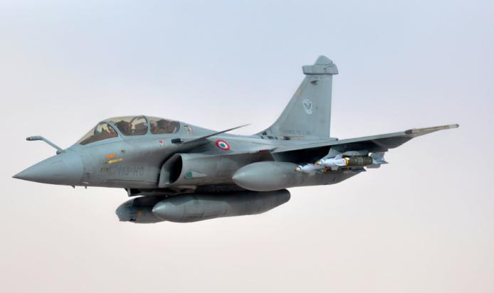 L'avion de chasse Rafale (Photo d'illustration)