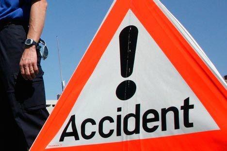 Accident de poids-lourds : la D 619 coupée à Provins (77)