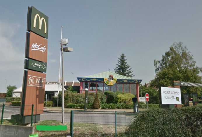 McDonald's, boulevard Salengro, à Mantes-la-Ville