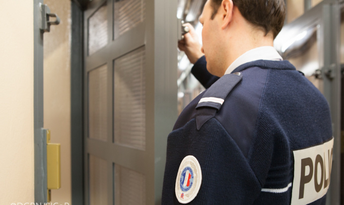 Les suspects ont été remis en liberté à l'issue de leur garde à vue à l'hôtel de police de Rouen (Photo @DGPN)