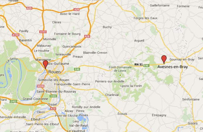 Seine-Maritime : un mort et six blessés dans deux accidents de la route ce matin