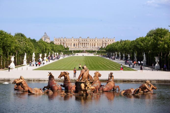 Le château de Versailles des milliers de visiteurs chaque semaine (Photo @DR)