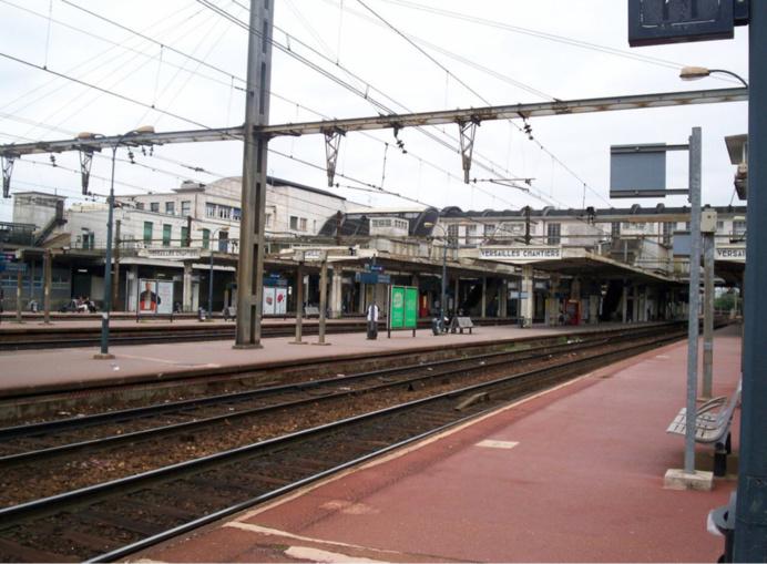La gare a été évacuée et un périmètre de sécurité a été mis en place de 18h à 20h (Photo d'illustration)