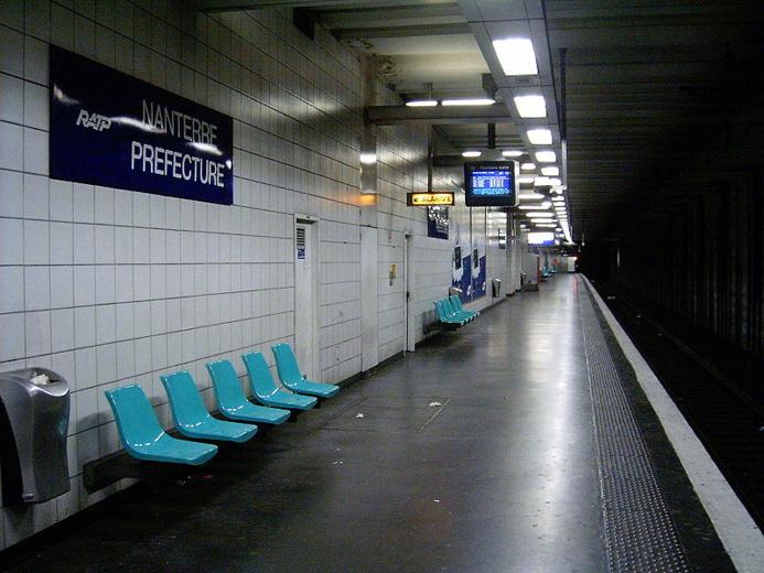 L'altercation s'est produite jeudi soir sur un quai de la gare de Nanterre-Préfecture (Photo d'illustration)