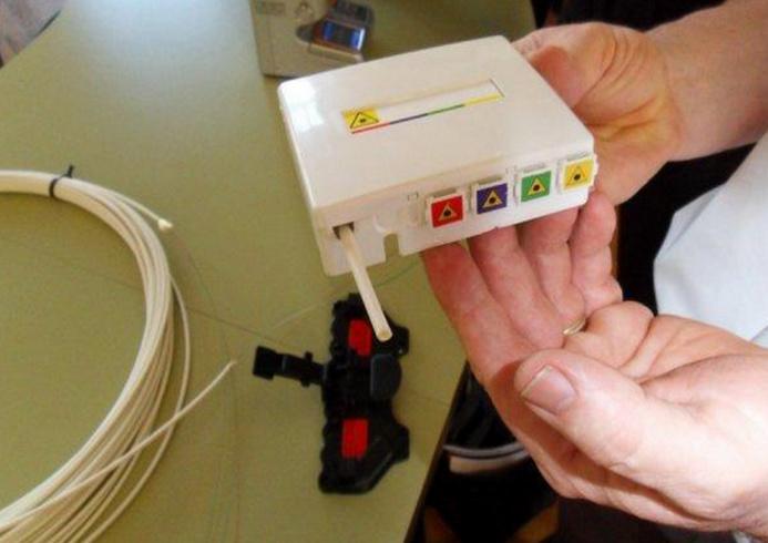 18 000 prises de fibre optique seront mises en chantier dès cette année dans l'Eure, promet le Conseil général  (Photo d'illustration)