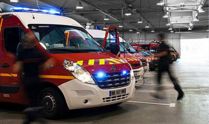 L'adolescente a été prise en charge par les sapeurs-pompiers et transportée au CHU de Rouen (Photo d'illustration)
