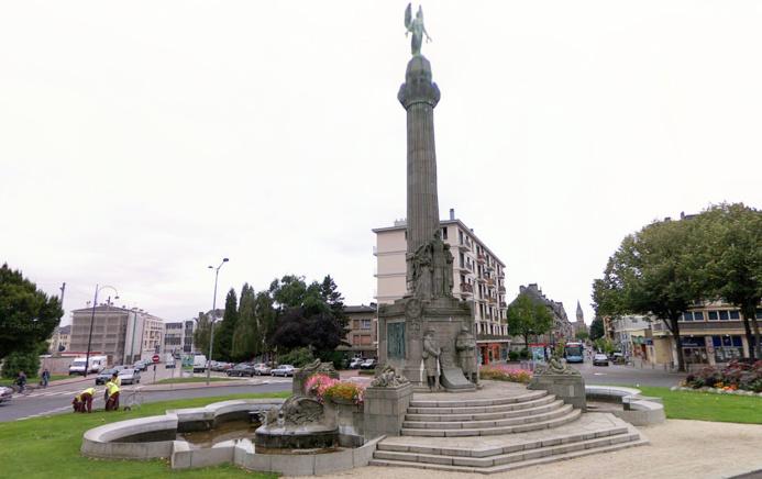 La cérémonie sera célébrée au monument aux morts de la place Carnot, rive gauche de Rouen