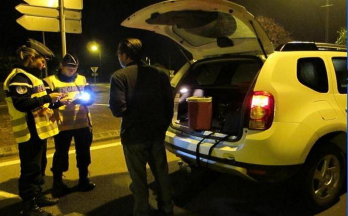 420 automobilistes ont été soumis à un dépistage d'alcoolémie en quelques heures par les gendarmes de la compagnie d'Yvetot (Photo DR)