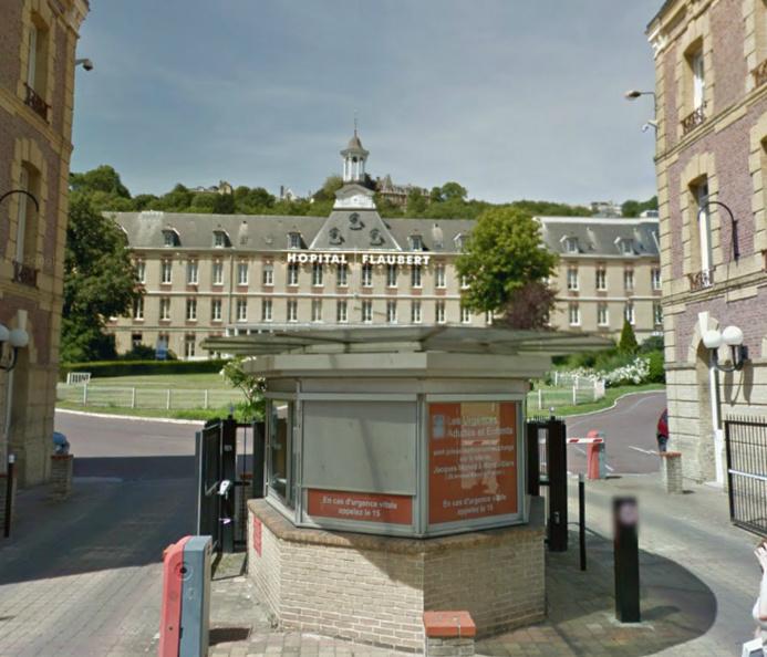 L'hôpital Flaubert, au Havre : l'incendie s'est déclaré dans l'aile de gériatrie qui accueille une soixantaine de patients