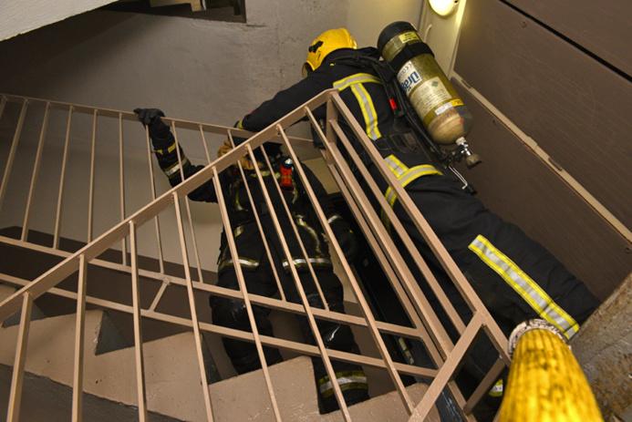 Les sapeurs-pompiers sont arrivés rapidement à bout des flammes (Photo d'illustration @Sdis78)