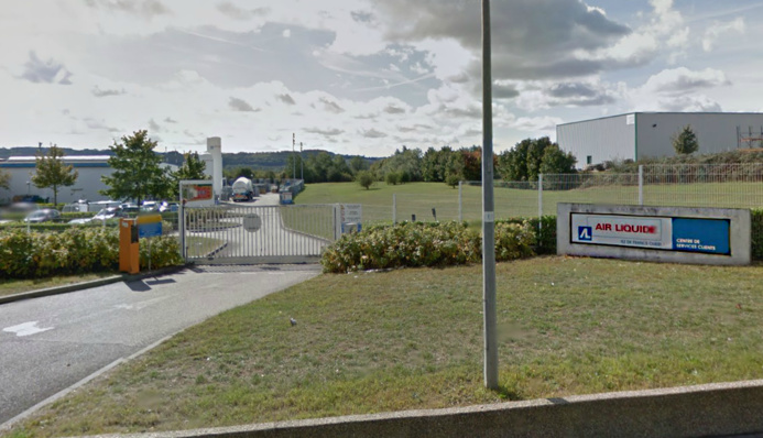 Début d'incendie chez Air Liquide à Limay : usine évacuée et périmètre de sécurité