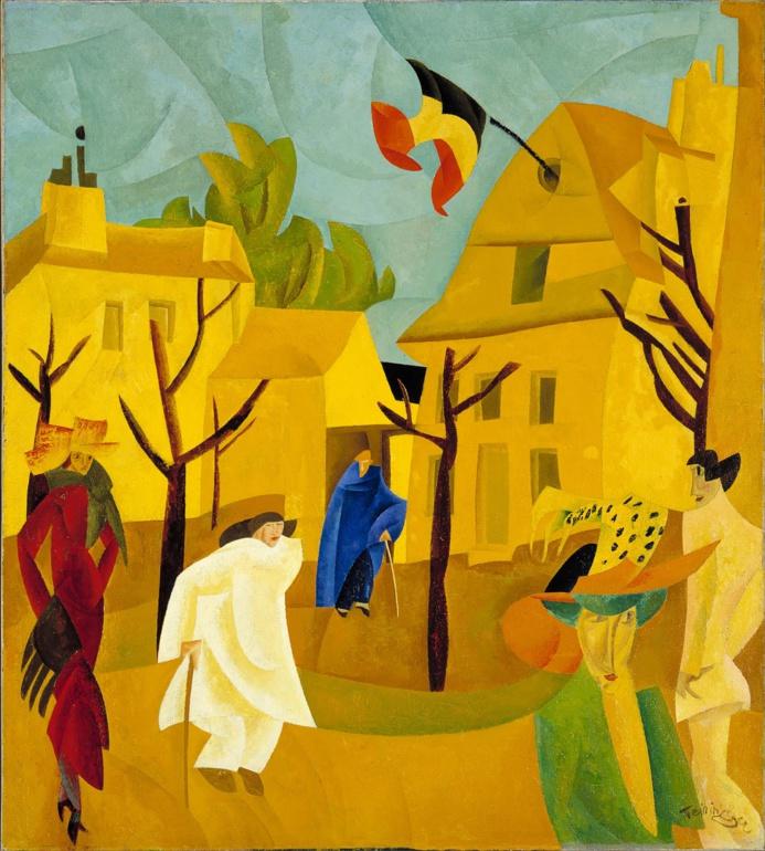 """Exposition :  Lyonel Feininger, """"l'arpenteur du monde"""" au Musée d'art moderne du Havre"""
