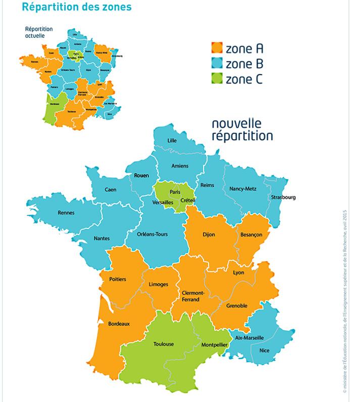 Vacances scolaires : la même zone pour les deux régions normandes